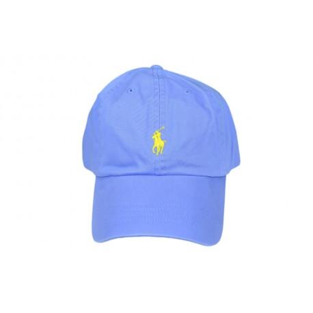 Casquette Ralph Lauren bleu mixte