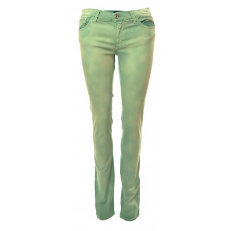 Jeans Audrey - Vert Kiwi