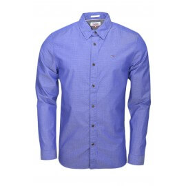 Chemise Tommy Hilfger à motifs bleu pour homme