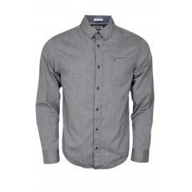 Chemise basique Tommy Hilfiger grise pour homme