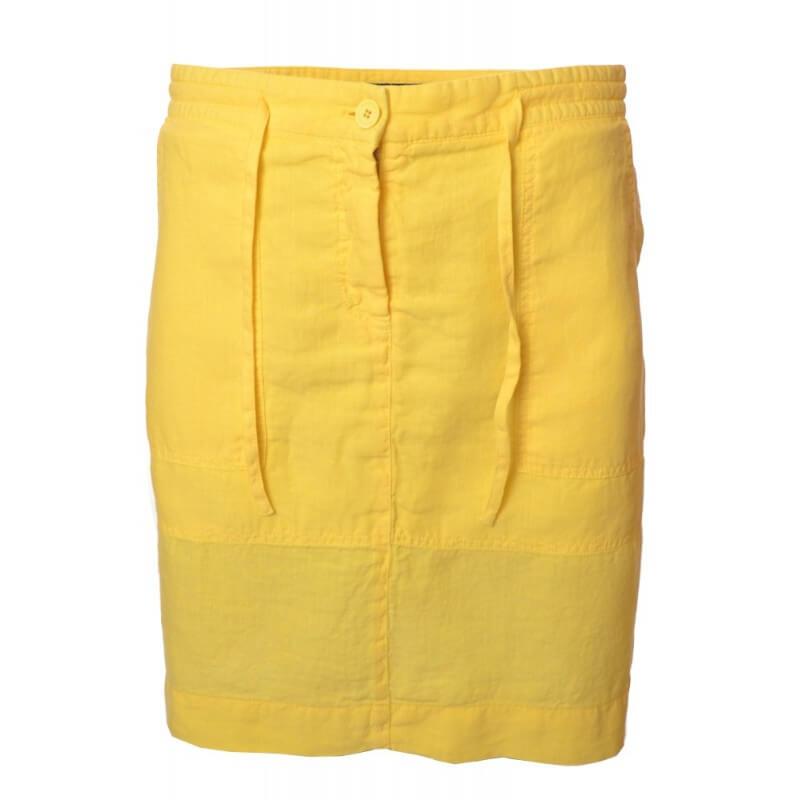 jupe gant jaune en lin pour femme toujours au meilleur. Black Bedroom Furniture Sets. Home Design Ideas
