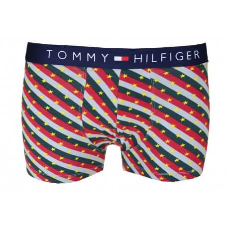 Boxer court Tommy Hilfiger motif étoile multicolore pour homme