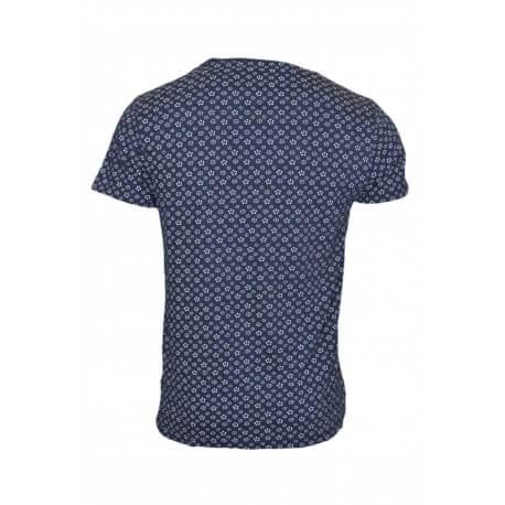 T-shirt imprimé Tommy Hilfiger bleu marine motif fleur pour homme