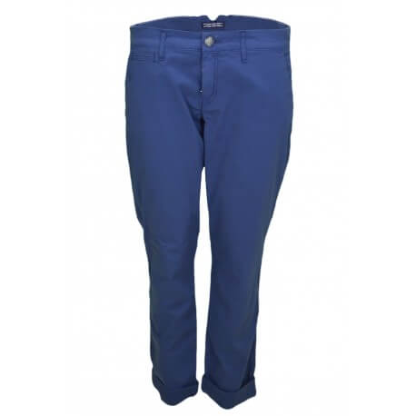 Chino Tommy Hilfiger Janet bleu marine pour femme