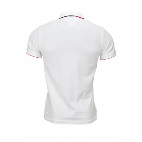 Polo Tommy Hilfiger blanc pour homme