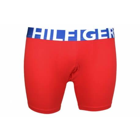 Boxer long Tommy Hilfiger rouge pour homme