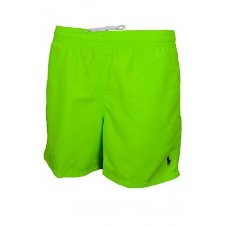 Short de bain Ralph Lauren vert fluo pour homme