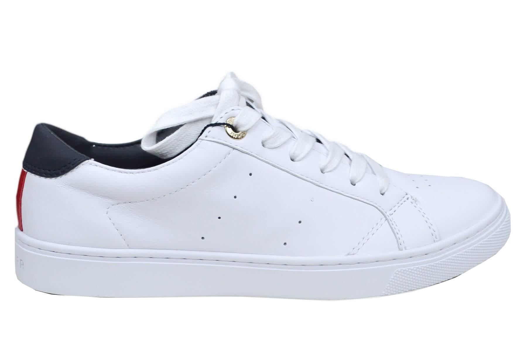530ecda393db chaussure tommy hilfiger femme blanche