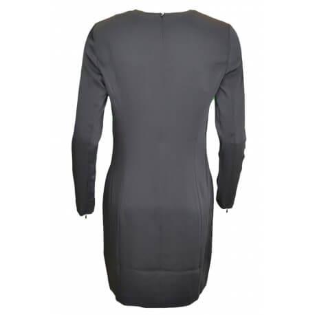 Robe manches longues Ralph Lauren noire pour femme