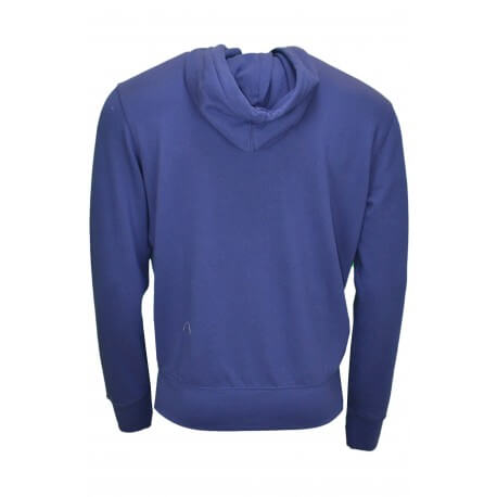Gilet zippé léger maille Ralph Lauren bleu marine pour homme