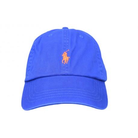 Casquette Ralph Lauren bleu roi mixte
