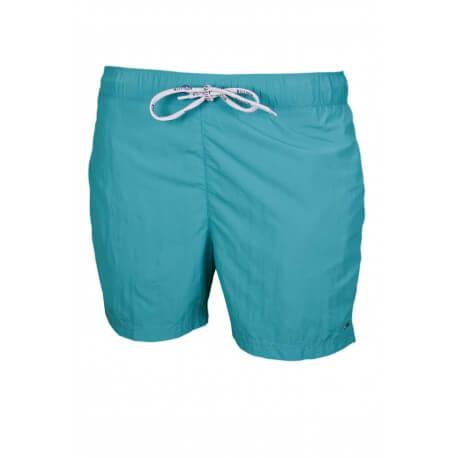 Short de bain Tommy Hilfiger Basic Solid vert pour homme