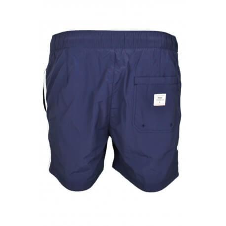 Short de bain Tommy Hilfiger Badge H bleu marine pour homme