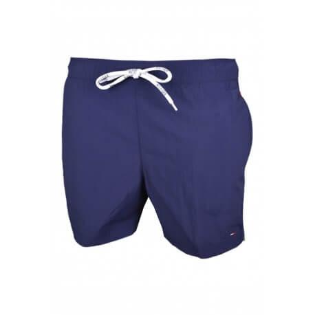 Short de bain Tommy Hilfiger Basic Flag bleu marine pour homme