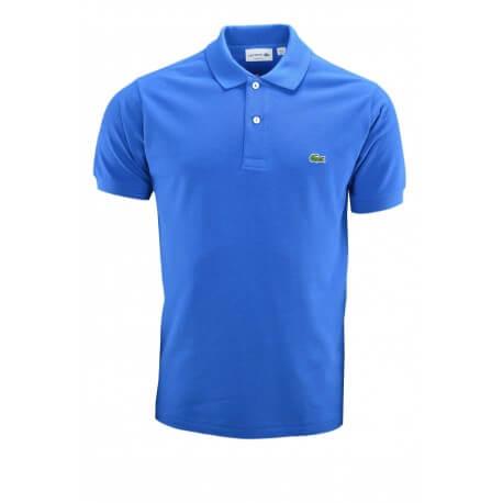 Polo basique Lacoste bleu pour homme