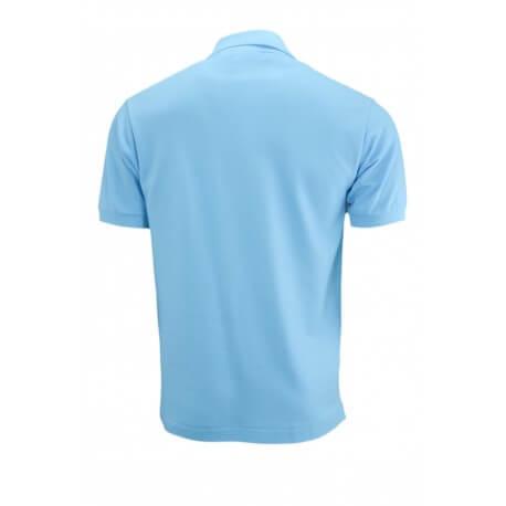Polo basique L1212 Lacoste bleu turquoise pour homme