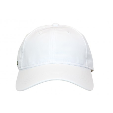 Casquette Lacoste sport blanche pour homme