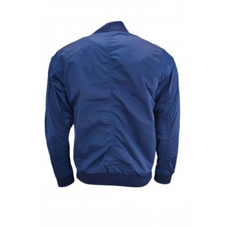Blouson Lacoste bleu marine pour homme