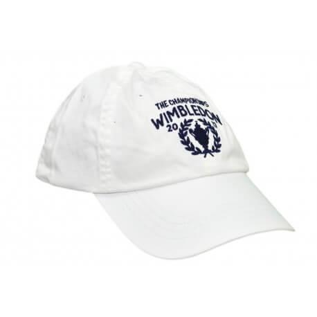 Casquette Ralph Lauren Wimbledon blanche pour homme