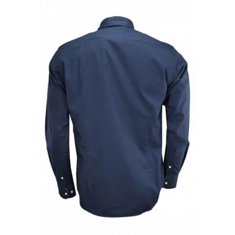 Chemise La Martina London bleu marine pour homme