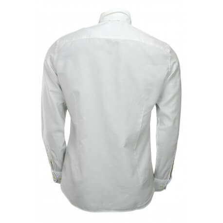 Chemise Hackett Oxford slim fit blanche pour homme