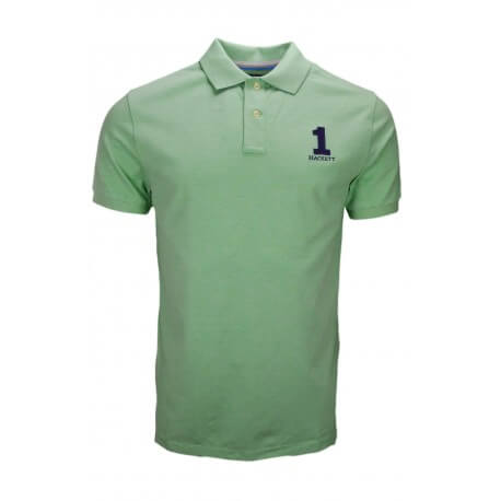 Polo Hackett basic one vert pastel pour homme
