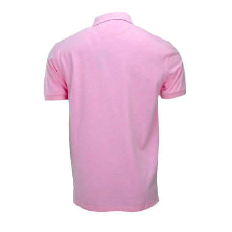 Polo Hackett basic one rose pastel pour homme