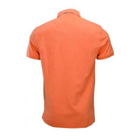 Polo Hackett basic one orange pastel pour homme