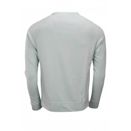 Sweat en coton éponge Ralph Lauren vert d'eau pour homme