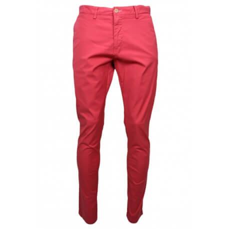 Chino Gant rouge pour homme longueur 34