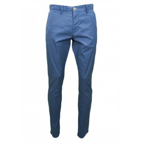Chino Gant bleu pour homme longueur 34