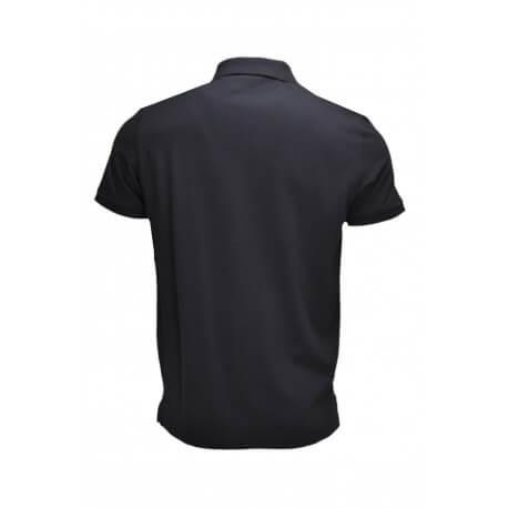 Polo basique Gant en piqué noir pour homme
