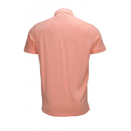 Polo basique Gant orange pastel pour homme