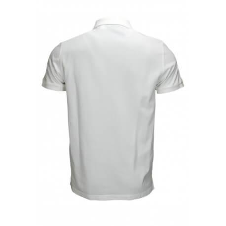 Polo basique Gant en piqué blanc pour homme