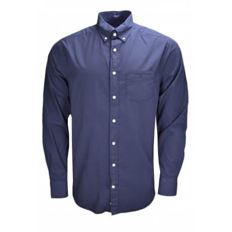 Chemise Gant bleu marine pour homme