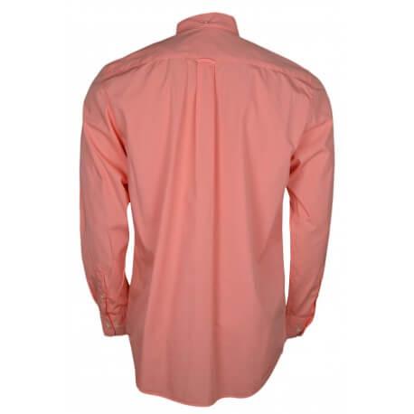 Chemise Gant poplin orange pour homme