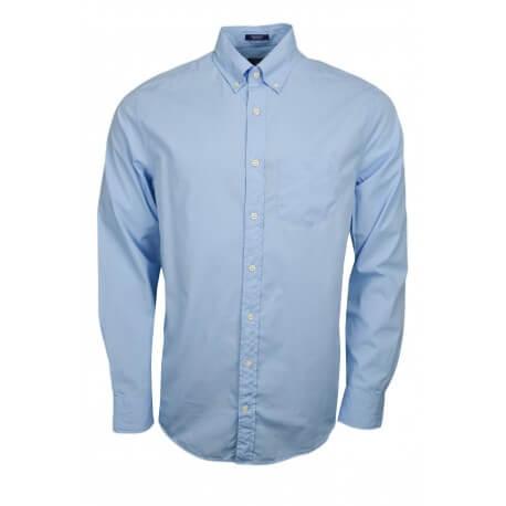 Chemise basique Gant bleu pour homme