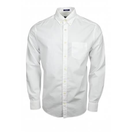 Chemise basque Gant blanche pour homme