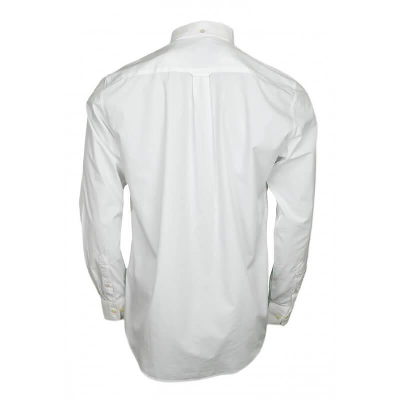 chemise basique gant blanche pour homme toujours au. Black Bedroom Furniture Sets. Home Design Ideas