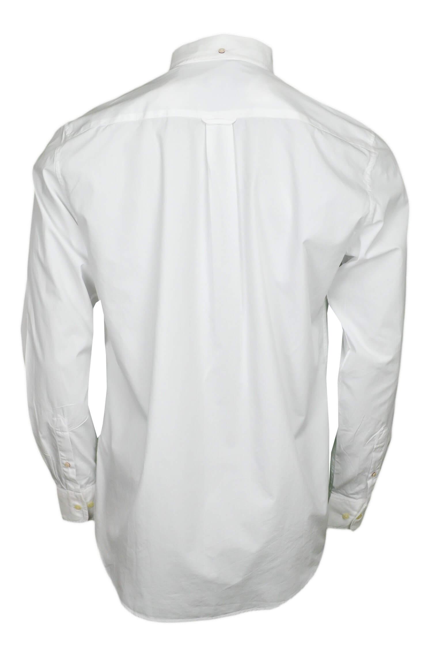 chemise basique gant blanche pour homme toujours au meilleur prix. Black Bedroom Furniture Sets. Home Design Ideas