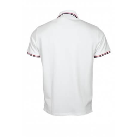 Polo Gant Tipping blanc pour homme
