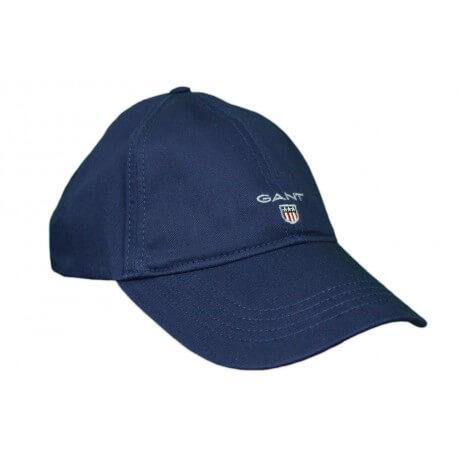 Casquette Gant Logo bleu marine pour homme