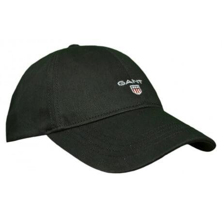 Casquette Gant Logo noire pour homme