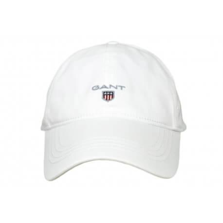 Casquette Gant Logo blanc pour homme
