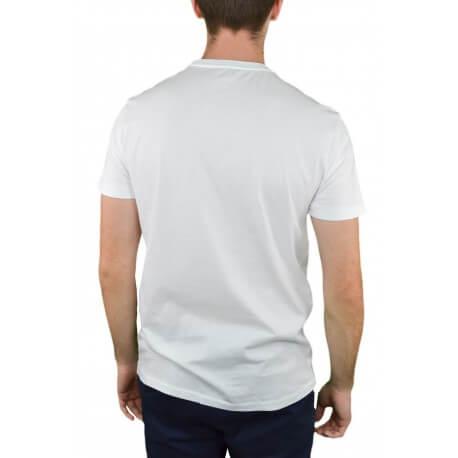 T-shirt col rond Ralph Lauren blanc pour homme