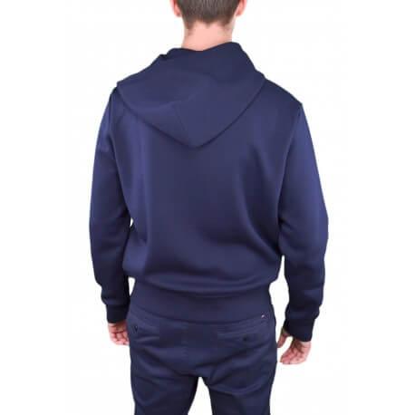 Veste sweat zippée Ralph Lauren noire pour homme