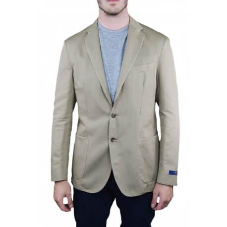 Veste blazer Ralph Lauren beige sable pour homme