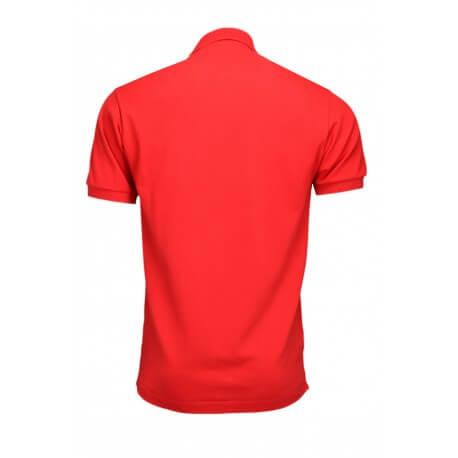 Polo Lacoste L1212 classic fit rouge pour homme