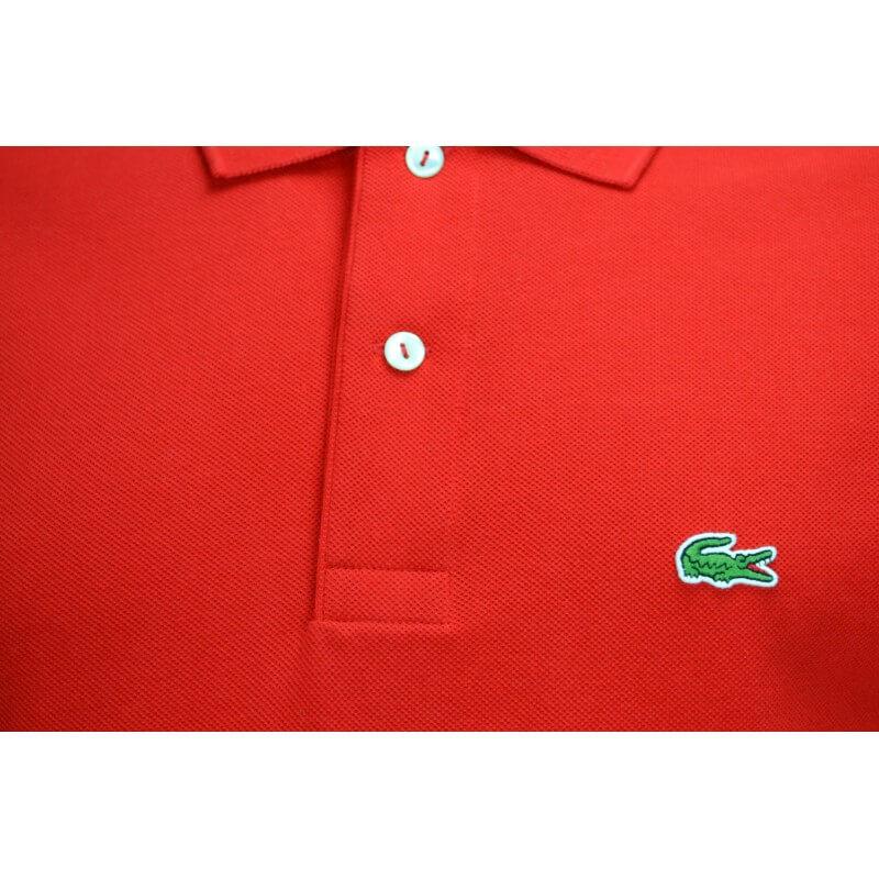 9afb5fe5a5 Polo Lacoste L1212 classic fit rouge pour homme - Toujours au meil...