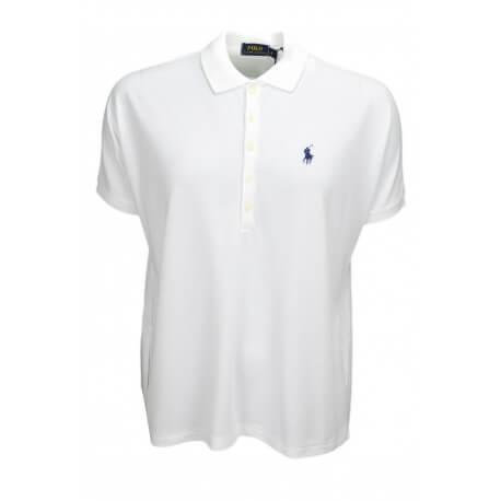 Polo Ralph Lauren ample blanc pour femme